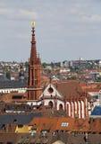 Marienkapelle Wurzburg, Германия стоковая фотография