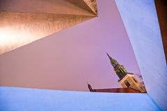 Marienkirche, Alexander Platz, Berlin, Germany. Royalty Free Stock Image