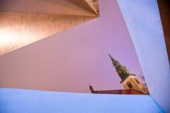 Marienkirche, Alexander Platz, Berlin, Germany. Royalty Free Stock Image