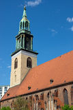 The Marienkirche in Berlin Royalty Free Stock Images