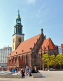 Marienkirche in Berlin, Germany Stock Photography