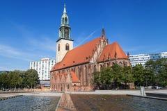 Marienkirche en Berlín imagen de archivo libre de regalías