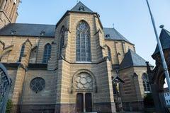 Marienkirche in Gusdorf near Grevenbroich in the evening sun.  royalty free stock photography