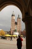 Marienkirche Kraków Fotografía de archivo libre de regalías