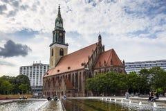 Marienkirche, located in central Berlin, near Alexanderplatz