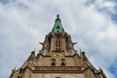 Marienkirche of Muehlhausen, Germany Stock Photos
