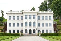 Marienlyst Castle, Helsingoer stock photo