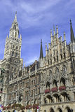 Marienplatz在市中心,慕尼黑,德国 免版税库存照片
