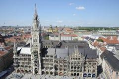 Marienplatz在慕尼黑 免版税库存照片