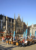 Marienplatz广场在慕尼黑 德国 免版税库存图片