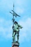Marienplatz广场在慕尼黑,德国 免版税库存图片