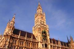 Marienplatz,慕尼黑 免版税图库摄影
