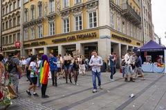 Marienplatz Μόναχο, Γερμανία Στοκ εικόνα με δικαίωμα ελεύθερης χρήσης