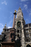 marienplatz Μόναχο Στοκ εικόνες με δικαίωμα ελεύθερης χρήσης