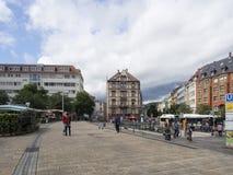 Marienplatz, Штутгарт Стоковое Фото