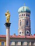 Marienplatz -慕尼黑 图库摄影