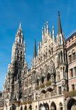 Το νέο Δημαρχείο σε Marienplatz στο Μόναχο, Βαυαρία, Γερμανία στοκ εικόνες