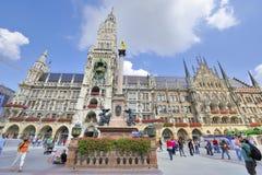 Marienplatz Lizenzfreie Stockbilder