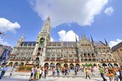 Marienplatz Royaltyfria Bilder