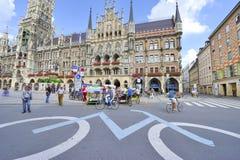 Marienplatz Royalty-vrije Stock Afbeelding