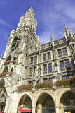 Marienplatz in the city center, Munich, Germany Royalty Free Stock Image