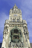 Marienplatz in the city center, Munich, Germany Stock Photography