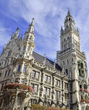 Marienplatz in the city center, Munich, Germany Royalty Free Stock Photography