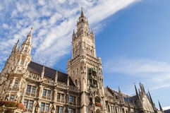 Marienplatz in the city center, Munich, Germany Royalty Free Stock Images
