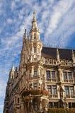 Marienplatz in the city center, Munich, Germany Royalty Free Stock Photos