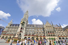 Marienplatz. City Town Hall Stock Photography