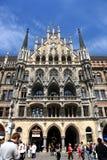 Marienplatz en Munich Fotografía de archivo