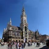 Marienplatz en Munich, Alemania Fotografía de archivo libre de regalías