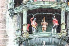 Marienplatz figurines Stock Images