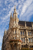Marienplatz i centret, Munich, Tyskland Royaltyfria Foton