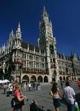 Marienplatz in München stock afbeeldingen
