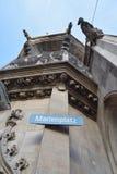 Marienplatz München Stock Afbeelding