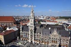 Marienplatz München Stockbild