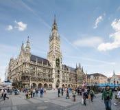 marienplatz Monachium Obraz Stock