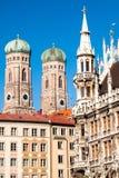 marienplatz Monachium Obraz Royalty Free