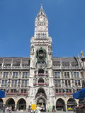 Marienplatz Munich. Marienplatz, Munich downtown, Germany in the daylight stock photography