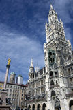 Marienplatz in Munich Stock Image