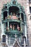 marienplatz munich Arkivbilder