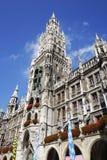 Marienplatz in Munich Stock Photos