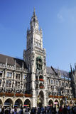 Marienplatz in Munich Stock Photos