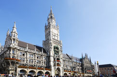 Marienplatz in Munich Royalty Free Stock Image