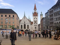 Marienplatz, Munich Photographie stock libre de droits