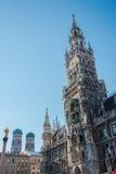 Marienplatz - munich Arkivfoto