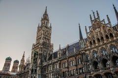 Marienplatz - munich Royaltyfri Foto