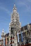 Marienplatz Munich Alemanha Imagens de Stock Royalty Free