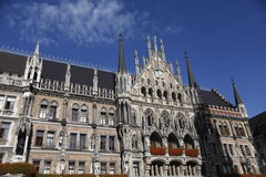 Marienplatz Munich. Attractions and Shopping in Marienplatz Munich from germany stock photography